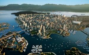 Вид на Ванкувер