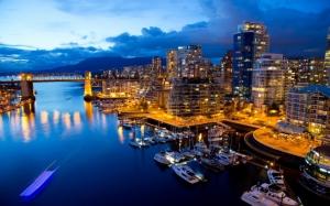 Ванкувер ночью