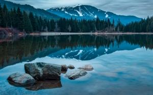 Чистое озеро в Канаде