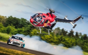 Вертолет Red Bull
