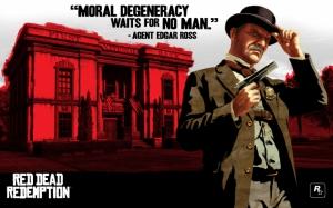 Red Dead Redemption Агент Росс