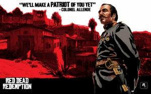 Полковник Алленде Red Dead Redemption