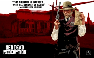 Маршал из Red Dead Redemption