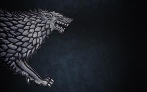 Символ дома Старков - серый лютовик