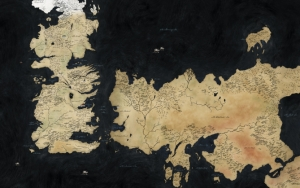 Игра престолов карта мира