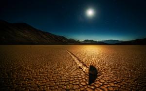 Ночью в пустыне
