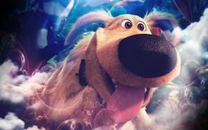 Забавный пёс