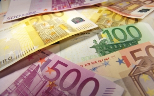 50, 100, 200 и 500 евро